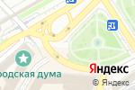 Схема проезда до компании Нижегородский государственный выставочный комплекс в Нижнем Новгороде