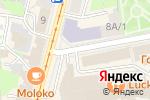 Схема проезда до компании Другое место-Вафли и кофе в Нижнем Новгороде