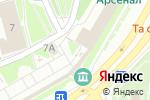 Схема проезда до компании Киоск по продаже сувениров в Нижнем Новгороде