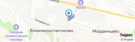 ТрансСервис на карте Нижнего Новгорода