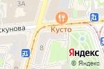 Схема проезда до компании Галерея стиля в Нижнем Новгороде