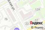 Схема проезда до компании УпакПолиграфКартон в Нижнем Новгороде