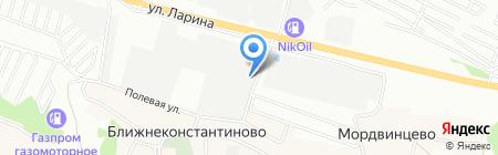 РусТоргОйл на карте Нижнего Новгорода