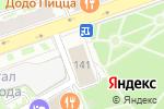 Схема проезда до компании Спутник в Нижнем Новгороде
