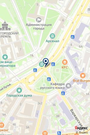 МАГАЗИН № 109 ГОРОДЕЦКОЕ РАЙПО на карте Заволжья