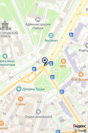 ДЕТСКИЙ САД №32 на карте Дзержинска