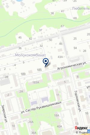 № 8 ДОМОУПРАВЛЯЮЩАЯ КОМПАНИЯ на карте Нижнего Новгорода