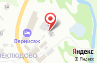 Схема проезда до компании Строймаркет в Золотово