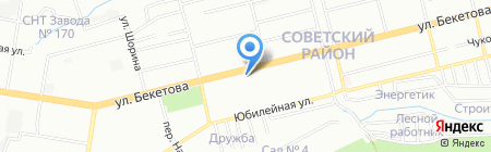Праздник на карте Нижнего Новгорода