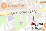 Схема проезда до компании A & J rooms в Нижнем Новгороде