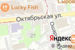 Схема проезда до компании Эдельвейс-тур в Нижнем Новгороде
