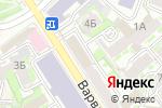 Схема проезда до компании Семейный ортопед в Нижнем Новгороде