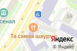 Схема проезда до компании НТВ-ПЛЮС в Нижнем Новгороде