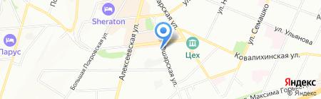 ДомСервис на карте Нижнего Новгорода