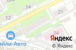 Схема проезда до компании Аудит-ВВАГС в Нижнем Новгороде