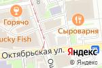 Схема проезда до компании Star Wedding в Нижнем Новгороде