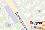 Схема проезда до компании Униформа в Нижнем Новгороде