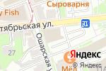 Схема проезда до компании Российский аукционный дом в Нижнем Новгороде
