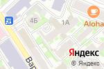 Схема проезда до компании Адвокатская контора №20 в Нижнем Новгороде