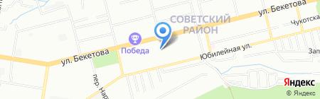 Средняя общеобразовательная школа №173 с углубленным изучением отдельных предметов на карте Нижнего Новгорода