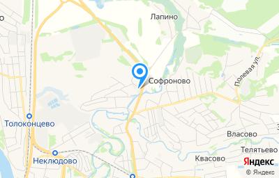 Местоположение на карте пункта техосмотра по адресу Нижегородская обл, г Бор, п Неклюдово, ул Совхозная, д 5Г