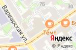 Схема проезда до компании ВЕГА в Нижнем Новгороде