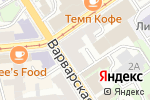 Схема проезда до компании TRUVOR в Нижнем Новгороде