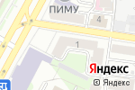 Схема проезда до компании Русский век в Нижнем Новгороде