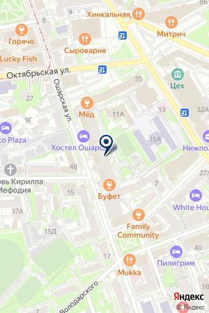 ПКФ ТИТАН на карте Нижнего Новгорода