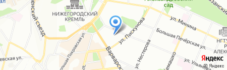 Автоюрист на карте Нижнего Новгорода