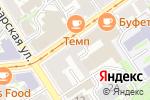 Схема проезда до компании СтальФонд в Нижнем Новгороде