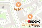 Схема проезда до компании Визовый центр Швеции в Нижнем Новгороде