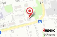 Схема проезда до компании Омега-Групп в Нижнем Новгороде