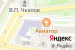Схема проезда до компании Проект-НН в Нижнем Новгороде