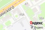 Схема проезда до компании Скат в Нижнем Новгороде