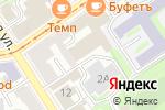 Схема проезда до компании Адвокат Серебрякова М.А. в Нижнем Новгороде