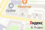 Схема проезда до компании Натали в Нижнем Новгороде
