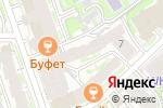 Схема проезда до компании Юниум в Нижнем Новгороде