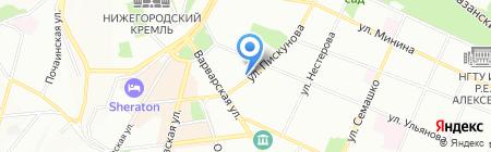 Булка с Маком на карте Нижнего Новгорода