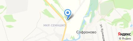 АЗС №102 на карте Бора