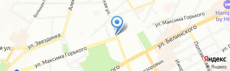 Банкомат Кредит Европа Банк на карте Нижнего Новгорода