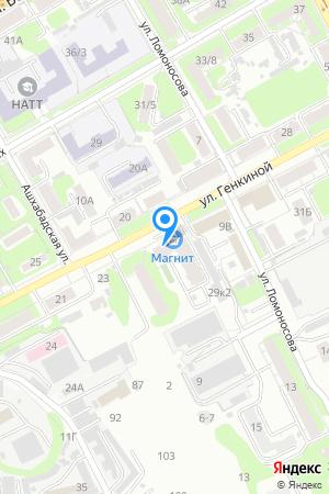 Дом 25А по ул. Генкиной, ЖК Грани на Яндекс.Картах
