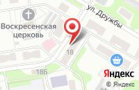 Схема проезда до компании Почтовое отделение в Золотово