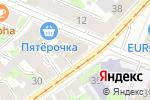 Схема проезда до компании Волконский в Нижнем Новгороде