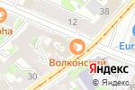 Схема проезда до компании LBC в Нижнем Новгороде
