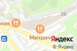 Схема проезда до компании Vip Travel в Нижнем Новгороде