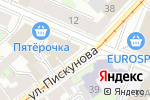 Схема проезда до компании OBLAKO в Нижнем Новгороде