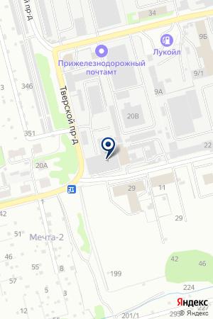 ТФ ЕВРОГС на карте Нижнего Новгорода