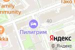 Схема проезда до компании Меркурий-Интер-Лаб в Нижнем Новгороде