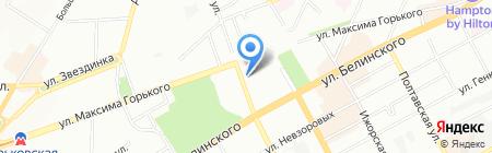 Атлантик-Трэвел на карте Нижнего Новгорода